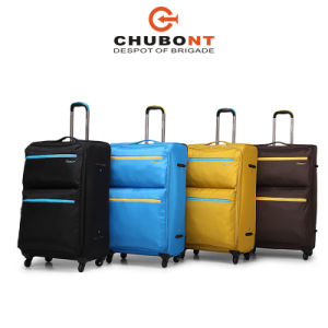 Chubont High Qualilty Waterproof Nylon Size 20 24 28 Trolley Case pictures & photos