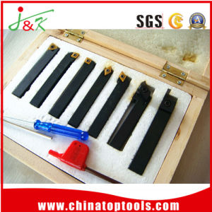 Common Tool Set 7piece Sets/Carbide Indexable Turning Tools Sets pictures & photos
