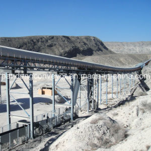 Long Distance Curved Belt Conveyor pictures & photos