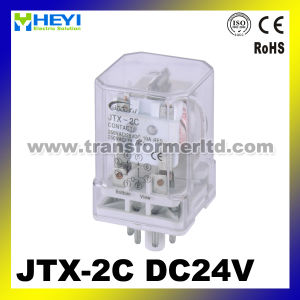 Jqx-10f-2c (JTX-2C) Super Electronic General Purpose Relay pictures & photos
