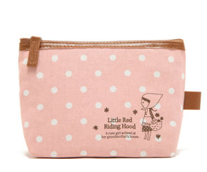 Beautifl Ladies PU Zipper Cosmetic Bag pictures & photos