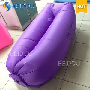 DIY Lazy Bag Air Inflation Beach Beds Banana Sleeping Bag Inflatable Sofa Air Bed pictures & photos