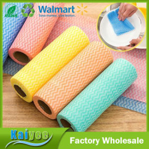 50PCS Multipurpose Fabric Nonstick Wiping Rags Cloth Kitchen Dish Cloth pictures & photos