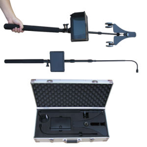 2m Telescopic Pole and Universal Wheel Tray Dual Cameras CCTV Search Camera System pictures & photos