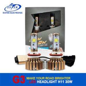 Evitek Hot Sell LED Car Light Golden G3 Golden H11 LED Headlight 3000lm pictures & photos