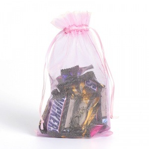 Organza Drawstring Bags for Candy pictures & photos