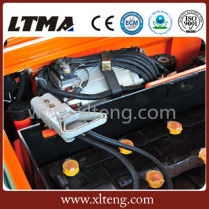 Ltma AC Power 1.5 Ton 3-Wheels Electric Battery Forklift Truck pictures & photos