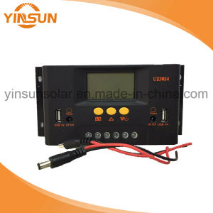 12V/24V 30A Solar Charger Controller pictures & photos