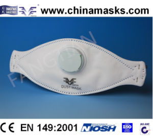 Protective Nonwoven CE Dust / Face Mask with Valve pictures & photos