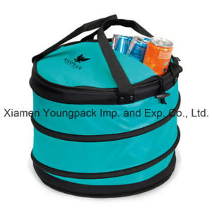 Customized Turquoise Collapsible Party Insulated Cooler Bag pictures & photos