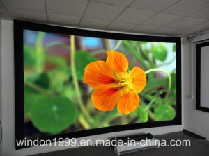 "110"" 16:9 Curved Fixed Frame Screen pictures & photos"