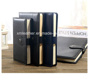 Business Paperbound A4 A5 PU Leather Note Book pictures & photos