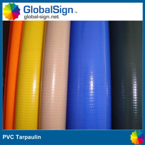0.6mm PVC Coated Tarpaulin for Truck Cover pictures & photos