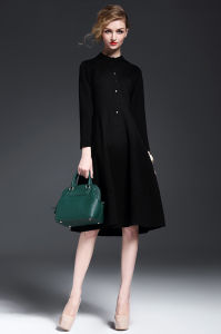 2015 New Arrival European Style Elegant Lady MIDI Dress pictures & photos
