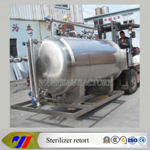 Fully Automatic Water Immersion Sterilizer Retort for Canned Food pictures & photos