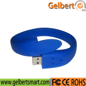 Best Price PVC Wristband USB Memory Stick for Promotion pictures & photos