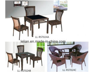Outdoor Bistro Table and Chair Set for Rattan Furniture pictures & photos