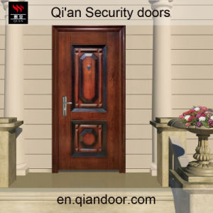 Galvanized Steel Security Door Honeycomb Paper Filling Foshan Factory Made in China pictures & photos