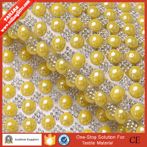 2016 Tailian Hot Fix Transfer Rhinestone Crystal Mesh pictures & photos