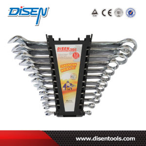 12PS (6-32mm) Chrome Plated Combination Spanners