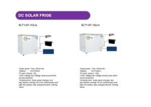 Hot Selling 140L DC Solar Freezer pictures & photos