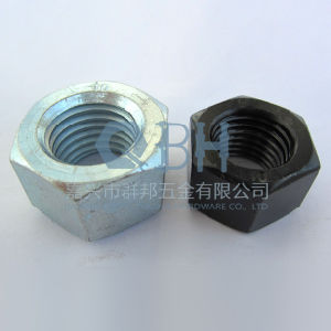 Hex Nuts (Black, Zp, Carbon Steel ANSI B18.2.2) pictures & photos
