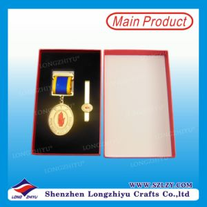 Custom Metal Commemorative Medal with Box pictures & photos