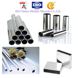 SUS201 304 Stainless Steel Welded Rectangular Pipe pictures & photos