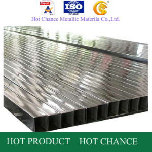 SUS 201, 304, 316 Stainless Steel Rectangular Pipe600#Polished pictures & photos