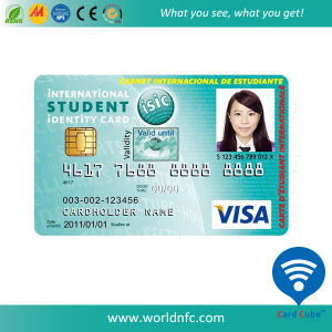 China Supplier PVC Photo ID Card Employees Card School Student Card with Chip pictures & photos