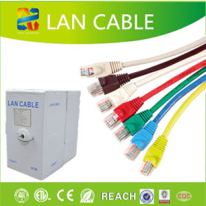 Networking Cable 23AWG 4pair UTP LAN Cable CAT6 pictures & photos