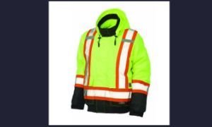Safety Parka Coat with High Visibility Reflective Tape pictures & photos