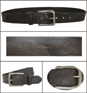 Dark Brown Casual Fashion Genuine Leather Belt pictures & photos