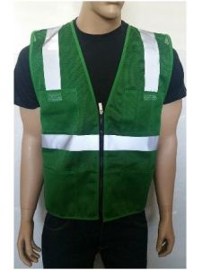 High Visibility Vest with Zipper Made of Mesh Fabric pictures & photos