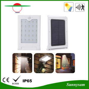 Waterproof LED Solar Outdoor Garden Street Light with Motion Sensor pictures & photos