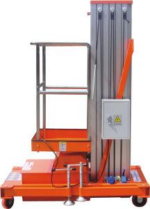 10m Single Mast Aluminum Alloy Aloft Man Elevator (L10-100) pictures & photos
