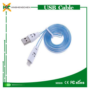 Wholesale Data Cable for iPhone USB Cable with LED Light pictures & photos