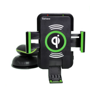 Qi Wireless Charger with High Quality Charging in Car for Samsung Smartphone pictures & photos