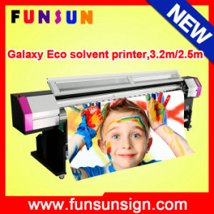 Big Discount Galaxy Ud3212ld Dx5 Head Large Format Eco Solvent Printer (3.2m/10FT, 1440dpi, for vinyl stickers, flex banners) pictures & photos