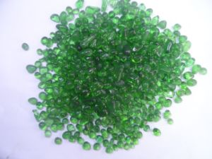 3-6mm Color Glass Beads-Green