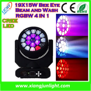19X15W Beam Big Bee Eye Light LED Moving Head pictures & photos