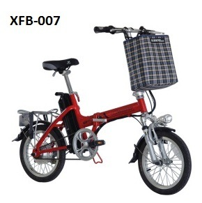 Folding Electric Bicycle Xfb-007 Pedeal Assist Bicycle Ce Mini E Bikes pictures & photos
