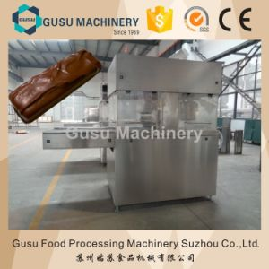 Automatic Chocolate Enrober Wafer Bar Production Machine pictures & photos