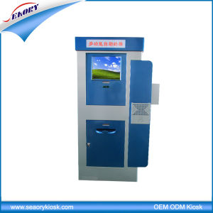 Outdoor Information Kiosk Free Standing Touch Screen Terminal Machine pictures & photos