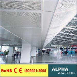 Aluminum Customed Decorative Supended False Exterior Solid Ceiling Panel pictures & photos