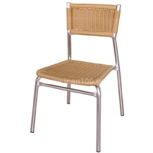 UV-Resistant Outdoor Aluminum Wicker Chair DC-06215 pictures & photos