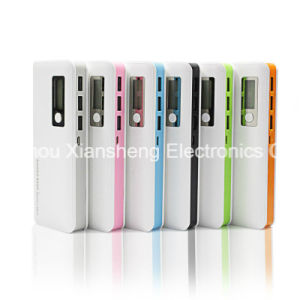 12000mAh Power Bank 3 USB Portable Charger External Battery Pack LED Light Fast Charging for Universal Mobile Phone