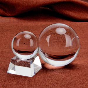 Home Decoration Clear 60mm Crystal Ball (Ks2014086) pictures & photos