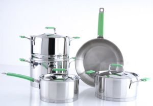 Cookware Set--High Stainless Steel 9PCS Cookware Set pictures & photos