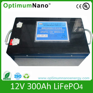 Rechargeable 12V 300ah LiFePO4 Battery Pack pictures & photos